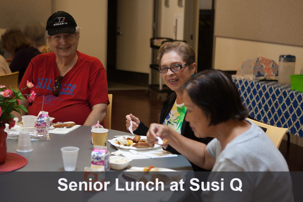 Senior Lunch at Susi Q