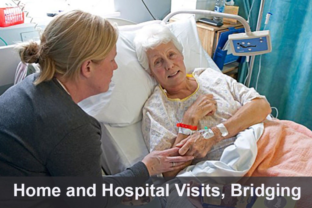 Home and Hospital Visits, Bridging